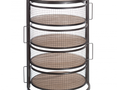 Round Steel Structure Drawers