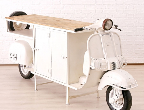 Vespa Table Bar Storage Furniture