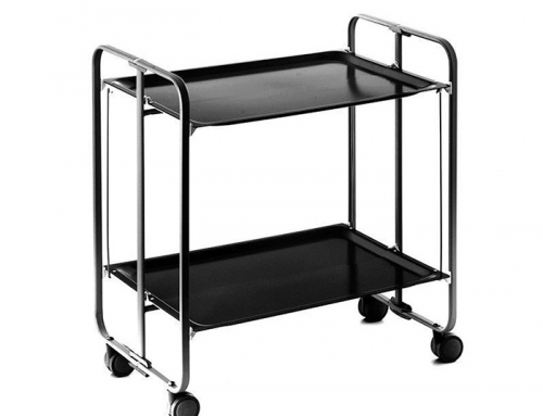 Black Serving Trolley