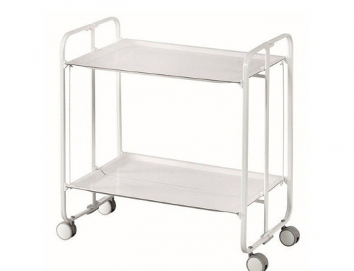 White Serving Trolley
